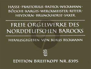 Freie Orgelwerke des Norddeutschen Barocks (Klaus Beckmann)