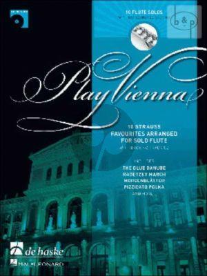 Play Vienna (Flute) (Bk-Cd)