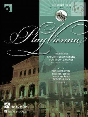 Play Vienna (Clarinet) (Bk-Cd)