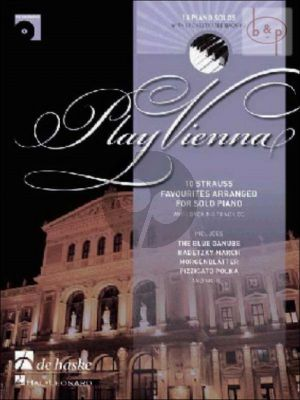 Play Vienna (Piano) (Bk-Cd)