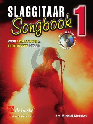 Merkies Slaggitaar Songbook Vol.1 (Bk-Cd)