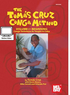Cruz Conga Method Vol.1 Beginning (Bk-DVD)
