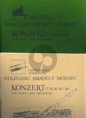 Mozart Konzert G-dur KV 313 4 Flöten (Part./Stimmen)