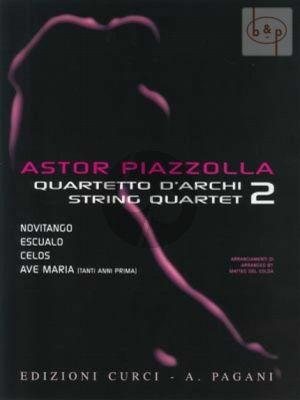 Piazzolla for String Quartet Vol.2