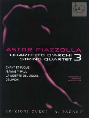Piazzolla for String Quartet Vol.3