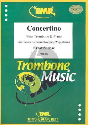 Sachse Concertino (Bassposaune-Klavier) (Bachmann)