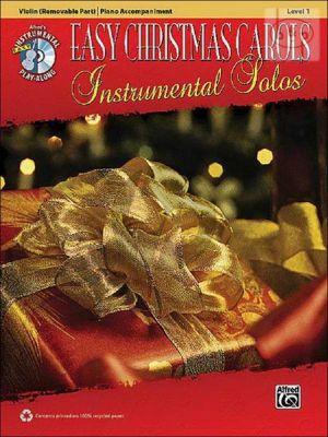 Easy Christmas Carols Instrumental Solos (Violin with Piano Accompaniment)