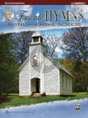 Favorite Hymns Instrumental Solos (Piano Accompaniment)