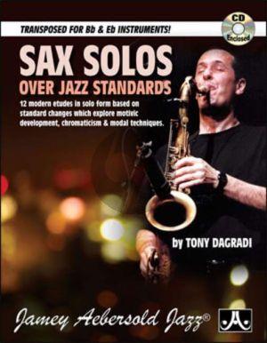DaGradi Sax Solos over Jazz Standards Saxophone (Bk-Cd)