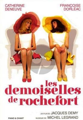 Legrand Les Demoiselles De Rochefort Piano-Vocal