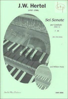 6 Sonate per Cembalo Vol.1