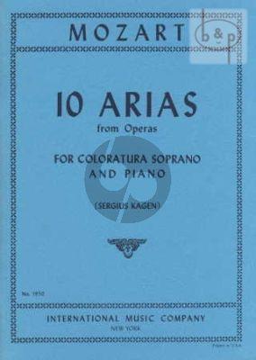 10 Arias from Operas