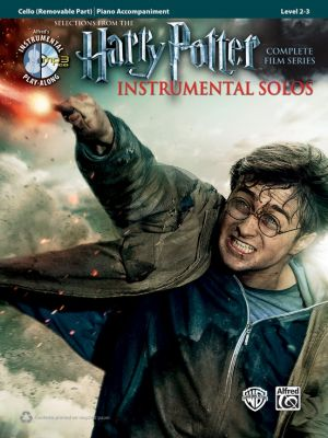 Harry Potter Instrumental Solos (Selections from the Complete Film Series) Violoncello with Piano Accomp. (Bk-Cd)