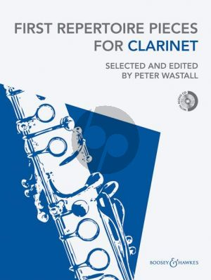 First Repertoire Pieces for Clarinet (with Piano Accomp.) (Bk-Cd) (Wastall)
