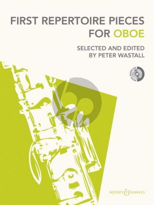 First Repertoire Pieces for Oboe (with Piano Accomp.) (Bk-Cd) (Wastall)
