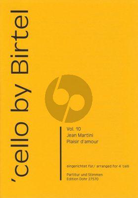 Nartini Plaisir d'Amour 4 Violoncellos (Part./Stimmen)