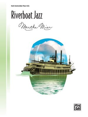 Mier Riverboat Jazz for Piano solo