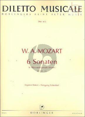 6 Sonaten KV 10 - 15