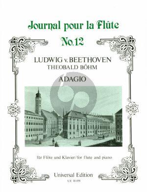 Adagio Op.15 No.2 (arr. from Piano Concerto No.1) Flute and Piano