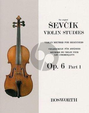 Violin Method for Beginners Op.6 Vol.1