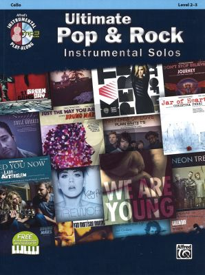 Ultimate Pop & Rock Instrumental Solos Cello (Bk-Cd)