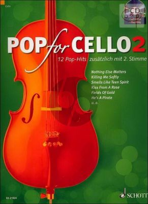 Pop for Cello Vol.2 (with 2nd Part)