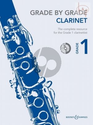 Grade by Grade Vol.1 Clarinet-Piano (Bk-Cd) (arr. by Janet Way)