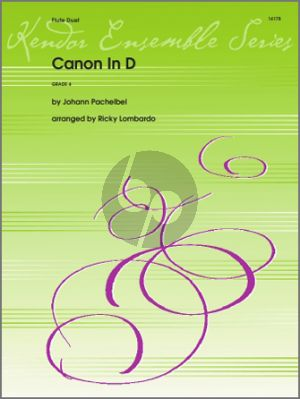 Pachelbel Canon in D for 2 Flutes (arr. Ricky Lombardo)