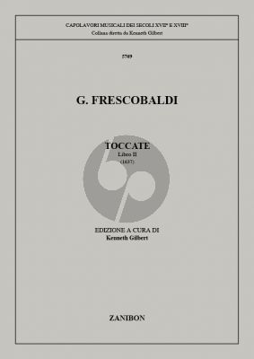 Frescobaldi Toccate Vol.2 Organ or Harpsichord (edited by Kenneth Gilbert)