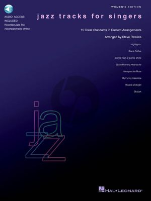 Jazz Tracks for Singers Women's Edition (Book with Audio online)