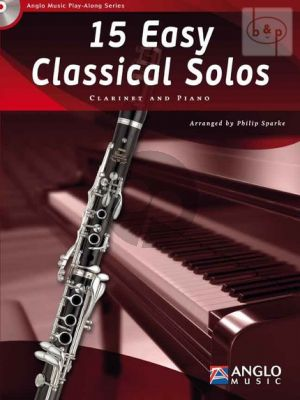 15 Easy Classical Solos (Clarinet-Piano)
