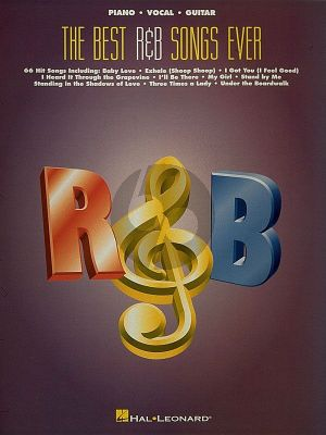 The Best R & B Songs Ever Piano-Vocal-Guitar