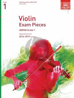 Violin Exam Pieces 2016 - 2019 Grade 1 Violin-Piano