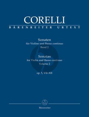 Corelli Sonaten Op.5 Vol.2 (No.7-12) Violine-Bc (Christopher Hogwood)