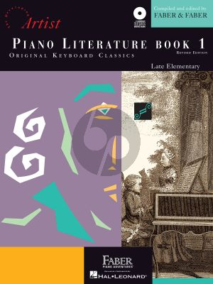 Faber Hartmann Piano Adventures - Literature Book 1 Developing Artist Original Keyboard Classics (Bk-Online Download)