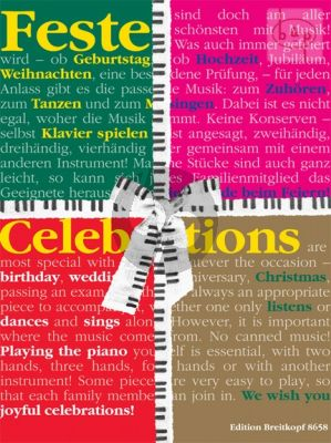 Celebrations (Feste) (Piano Pieces for Special Occasions)