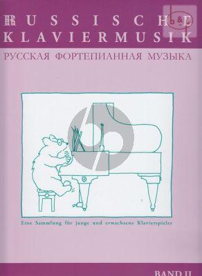 Russische Klaviermusik Vol.2 (mittelschwer)