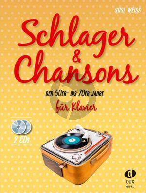 Schlager & Chansons der 50er bis 70er Jahren Klavier