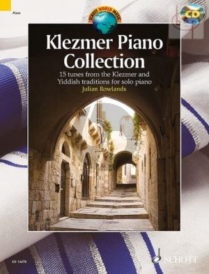 Klezmer Piano Collection (22 Tunes from the Klezmer and Yiddish Traditions)