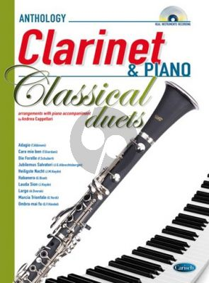 Classical Duets Clarinet-Piano (Bk-Cd)