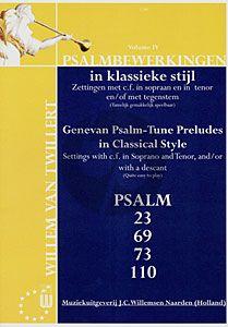 Psalmbewerkingen in Klassieke Stijl Vol.4