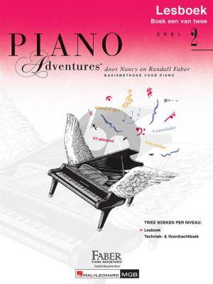 Faber Piano Adventures Lesboek 2 (Bk-Cd) (Ned.)