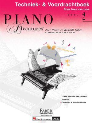 Faber Piano Adventures Techniek en Voordrachtboek 2 (Ned.)
