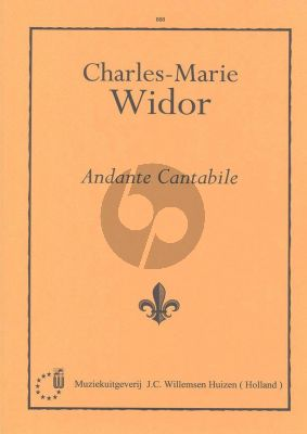 Widor Andante Cantabile Orgel (Symphonie No.4)
