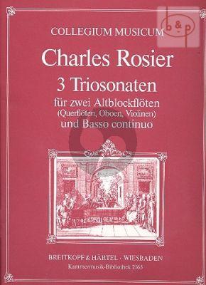 3 Triosonaten