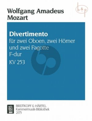 Divertimento F-dur KV 253