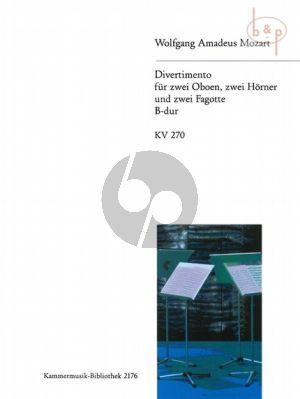 Divertimento B-dur KV 270 (2 Ob.- 2 Hrn