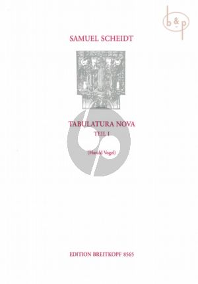 Tabulatura Nova Vol.1 SSWV 102 - 126