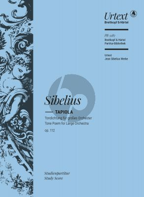 Sibelius Tapiola Opus 112 Orchester Studienpartitur