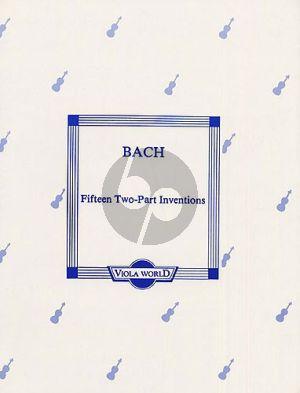Bach 15 2 part Inventions 2 Violas